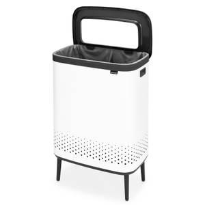Brabantia Bo Laundry Bin Hi - 2x45 L - White