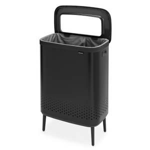 Brabantia Bo Laundry Bin Hi - 2x45 L - Matt Black