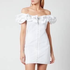 De La Vali Women's La Paz Cotton Dress - White