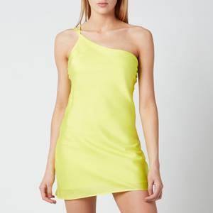 De La Vali Women's Lithium Dress - Yellow Solid