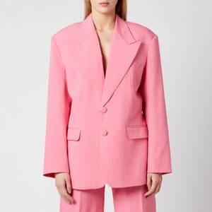 De La Vali Women's Montana Blazer - Pink Solid