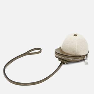 JW Anderson Women's Nano Cap Bag - Natural/Green