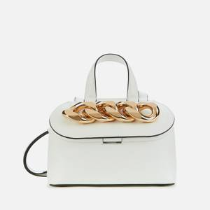JW Anderson Women's Small Chain Lid Bag - White