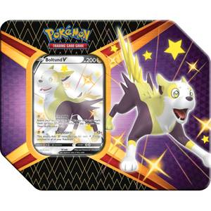 Pokemon TCG: Shining Fates Tin - Eldegoss V, Boltun V or Cramorant V (Assortment)