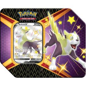Pokemon TCG: Shining Fates Tin - Eldegoss V, Boltun V oder Cramorant V (Assortment)