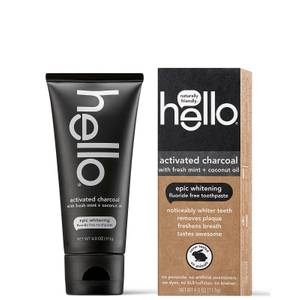 hello Activated Charcoal Epic Whitening Toothpaste 4 oz