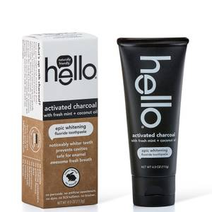 hello Activated Charcoal Whitening Toothpaste 4 oz