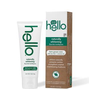 hello Naturally Healthy Whitening Toothpaste 4.7 oz