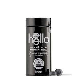 hello Activated Charcoal Whitening Toothpaste Tablets 2.9 oz