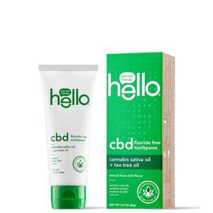 hello CBD and Tea Tree Oil Toothpaste 3 oz