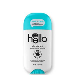 hello Clean and Fresh Deodorant with Activated Charcoal 2.6 oz
