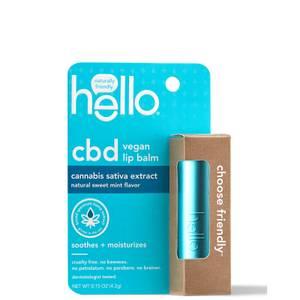 hello CBD Sweet Mint Lip Balm 0.15 oz
