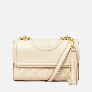 Tory Burch Women's Fleming Small Shoulder Bag - NEW CREAM