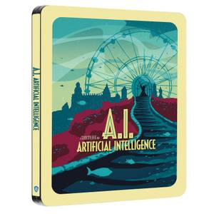 A.I - Zavvi Exclusive Sci-fi Destination Series #4 Steelbook
