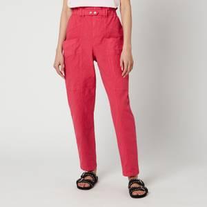 Isabel Marant Women's Enucie Trousers - Raspberry