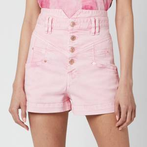 Isabel Marant Women's Diroysr Shorts - Light Pink