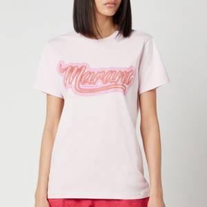 Isabel Marant Women's Zaof T-Shirt - Pink
