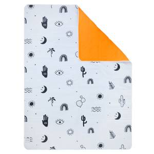 Sunnylife Wash Me Beach & Picnic Blanket Icons - Black White & Neon Pomelo