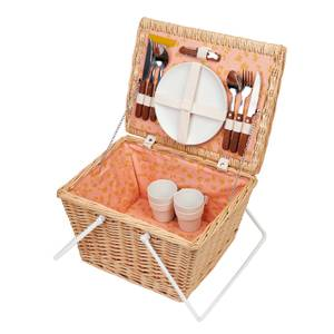 Sunnylife Eco Small Picnic Basket Call of the Wild - Peachy Pink