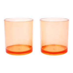 Sunnylife Poolside Tumblers Desert Palms - Powder Pink - Set of 2
