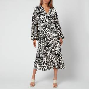 Stine Goya Women's Rosen Dress - Zebra Black