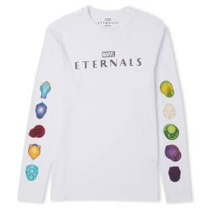 Marvel Eternals T-shirts à manches longues Unisexe - Blanc