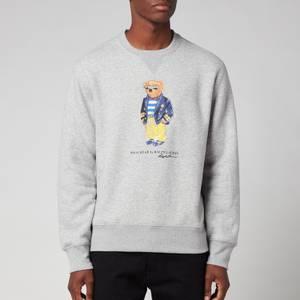 Polo Ralph Lauren Men's Magic Fleece Polo Bear Sweatshirt - Andover Heather