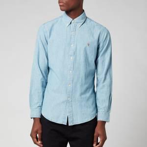 Polo Ralph Lauren Men's Slim Fit Chambray Shirt - Light Indigo