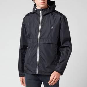Polo Ralph Lauren Men's Water-Repellent Hooded Jacket - Polo Black