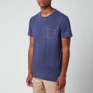 Polo Ralph Lauren Men's Custom Slim Fit Jersey Pocket T-Shirt - Cruise Navy