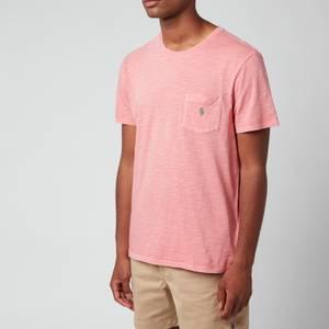 Polo Ralph Lauren Men's Custom Slim Fit Jersey Pocket T-Shirt - Desert Rose