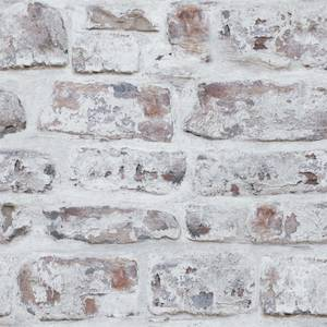 White Washed Wall Artistick Wallpaper