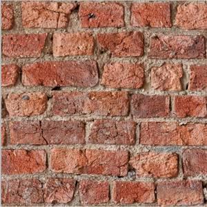 Urban Brick Red Artistick Wallpaper