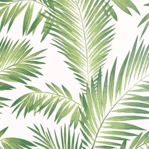 Tropical Palm Geen Artistick Wallpaper
