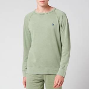 Polo Ralph Lauren Men's Spa Terry Sweatshirt - Cargo Green