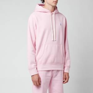 Polo Ralph Lauren Men's Fleece Hoodie - Carmel Pink