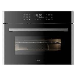 CDA VK703SS Built-in Compact Steam Oven with Grill - Stainless Steel