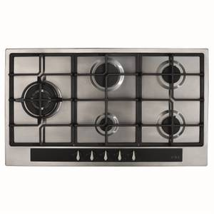 CDA HG9351SS 5 Burner Gas Hob with Front Controls - 90cm - Stainless Steel