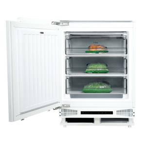 CDA FW284 Integrated Under Counter Freezer - 60cm - White
