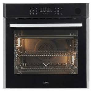 CDA SL670SS Built-in Single Electric Steam Oven - 13 Function - Stainless Steel