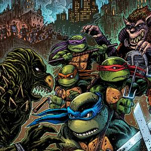 Waxwork - Teenage Mutant Ninja Turtles II: Secret of the Ooze LP (Green)