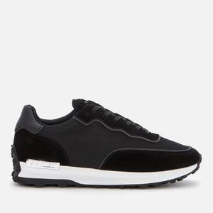 MALLET Men's Caledonian Mesh Running Style Trainers - Black