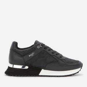 MALLET Men's Lux 2.0 Camo Running Style Trainers - Black