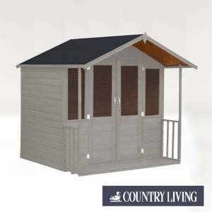 Country Living Flintham 7 x 7 Traditional Summerhouse Painted + Installation - Thorpe Towers