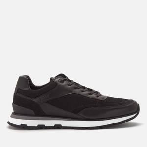 BOSS Men's Arigon Running Style Trainers - Black