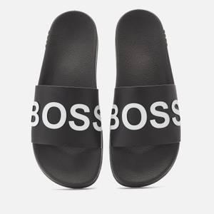 BOSS Men's Bay Slide Sandals - Black