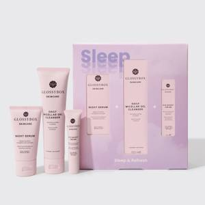 GLOSSYBOX Sleep & Refresh Skincare Set (Wert 51.00 €)