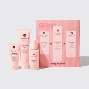 GLOSSYBOX Ready, Set, Glow Skincare Set (worth $64.00)