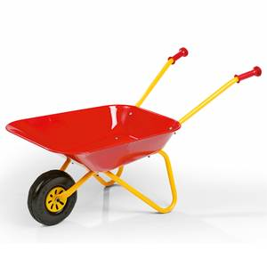 Rolly Childs Red Metal Wheelbarrow