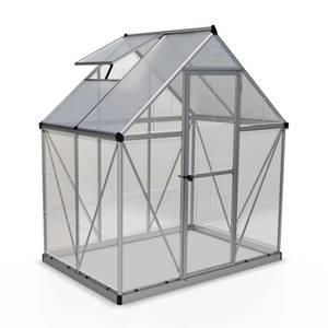 Palram Hybrid 6x4ft Silver Greenhouse